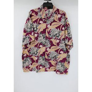 Vintage Patagonia men's XL hawaiian shirt button